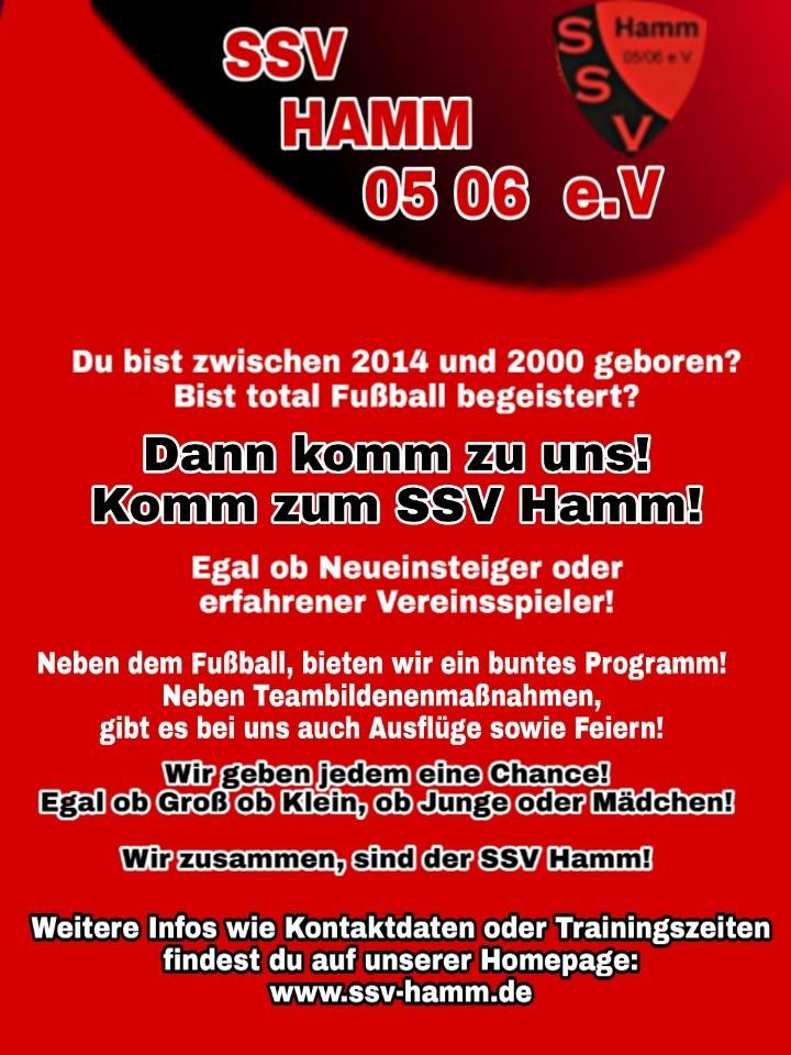 Hallo Zusammen wir suchen noch nach Nachwuchs Kicker Für unsere F-Jugend  vom SSV Hamm