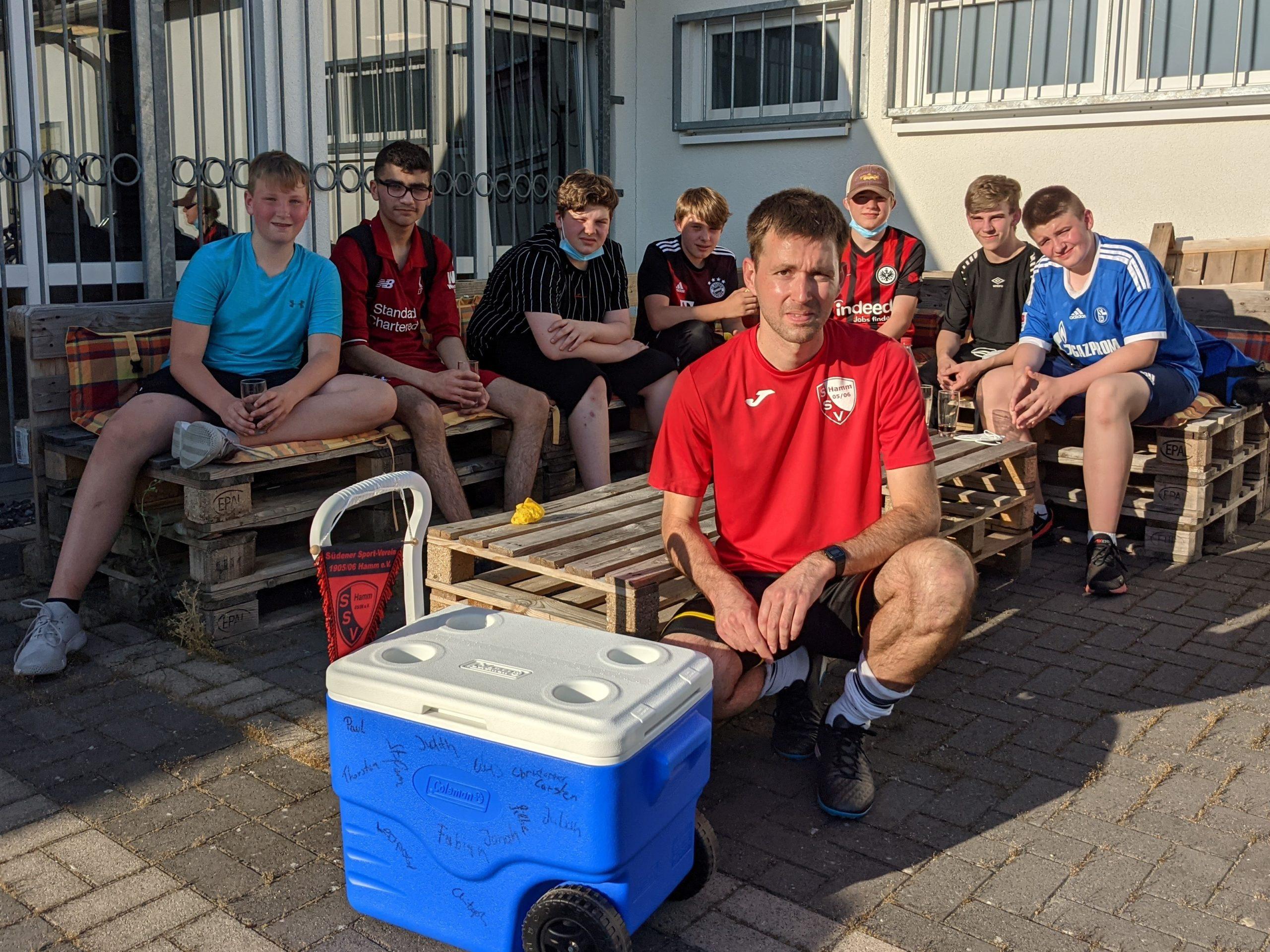 Read more about the article Langjähriger Trainer im Jugend-Fußball verlässt den SSV Hamm